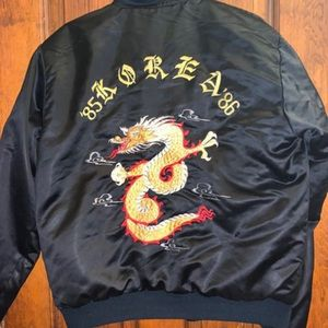 Korea '85-86' Bomber Jacket.
